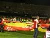 Il cuore Ferrari allargato sul campo di gioco  dalla selezione degli Scuderia Ferrari Club