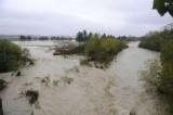 Maltempo, allarme rosso: il fiume Saline ha rotto gli argini