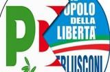 Berlusconi si moltiplica, Alfano se ne va e il conto lo paga il Pd
