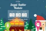 Google festeggia il Natale e segue il percorso di Santa Claus