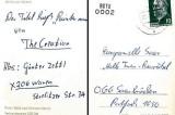 Günter Zettl recupera la sua cartolina dal passato di Berlino Est