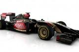 Rendering per la Lotus E22 che mostra il muso a tricheco