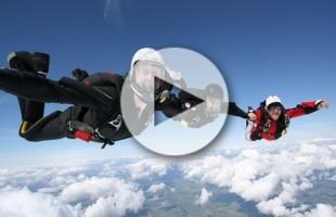 VIDEO Il paracadutismo dal punto di vista dei protagonisti