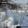 Cascate del Niagara ghiacciate? Non quest'anno