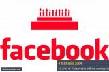 Facebook spegne 10 candeline