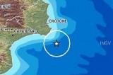 Terremoto in tempo reale, scosse in Calabria e Puglia