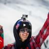 VIDEO Sci, impresa fenomenale: doppio salto mortale di 55 metri