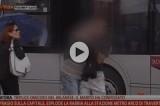 VIDEO Roma: ispettore Atac aggredito dal passeggero per blocco metro