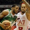 Basket playoff: Siena espugna Milano 68-72. Ora ha due match point