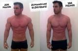 La provocatoria dieta di Ross Edgley: perde undici chili in 24 ore