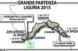 Giro d'Italia 2015: partenza da Sanremo, con tre tappe liguri