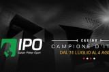 Cresce la febbre del poker per l'arrivo dell'Italian Poker Open 15