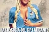Polemiche in Spagna: l'Alicante ricerca soci con uno spot super sexy