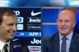 VIDEO Allegri vs Sacchi: ancora botte da orbi