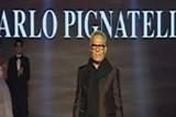 VIDEO Carlo Pignatelli cade dalla passerella di Tutto Sposi 2014