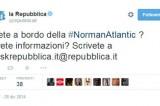 Tweet di Repubblica sulla Norman Atlantic: dovere di cronaca?