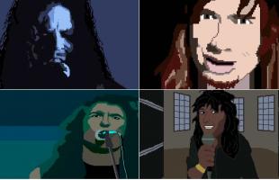 Big 4 in 8 bit: il videogame con Metallica, Slayer, Megadeth e Anthrax