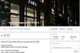 Zara, la truffa delle gift card da 500 euro su Facebook