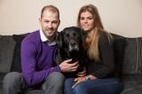 Leo, cane eroe, salva la vita della sua padrona