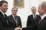Renzi, Putin e la 'real-politik'