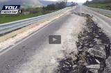 Voragine strada provinciale Siracusa-Ragusa dopo 15 mesi dai lavori