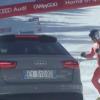 Audi e Gino Burrini, l'emozione del ritorno in pista a 81 anni