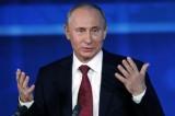 """Putin: """"La Russia sosterrà la creazione di uno Stato palestinese"""""""