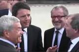 """VIDEO Expo 2015, Renzi a Maroni: """"Sei un chiagn' e fotti"""""""