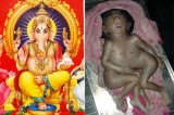 India: il neonato con otto arti è la reincarnazione del dio Ganesha