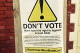 UK, campagna islamica contro le elezioni: 'La democrazia viola Allah'