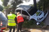 Incidente al rally dell'Elba. Due feriti, uno grave
