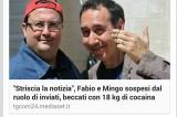 Fabio e Mingo sospesi da 'Striscia la Notizia' per cocaina: la bufala