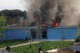 Empoli, incendio in una scuola: aule in struttura simile a container