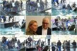 Venezia: cede il pontile, ospiti Prada finiscono in acqua