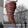 In mostra a Milano il vortice che riproduce il Garbage Patch State