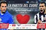 Partita del cuore: fallo di Nedved a Moreno, si scatena la polemica