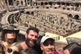 Dan Bilzerian è a Roma: sexy selfie al Colosseo