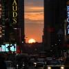 Manhattanhenge: il tramonto più bello dell'anno a Manhattan VIDEO – FOTO