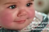 #PampersPooFace: il concorso con le foto dei neonati che fanno la pupù