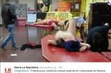 FOTO Sesso di gruppo all'università. Scandalo a Buenos Aires