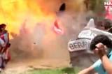 Attentato Isis in centro culturale, il video dell'esplosione a Suruc