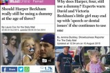 Critiche ai Beckham: la figlia di 4 anni usa ancora il ciuccio