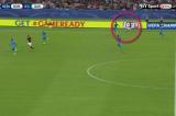 VIDEO Gol di Florenzi da centrocampo e inno di Venditti: Roma – Barcellona da brividi