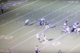 VIDEO Nuovo schema nel football: placcare l'arbitro