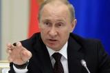 Siria: l'Ue deve allearsi con Putin, non con Obama