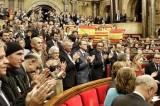 Catalogna, il parlamento dice sì all'indipendenza