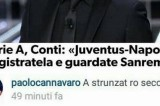 Sanremo 2016 o Juventus-Napoli? Paolo Cannavaro risponde a Carlo Conti