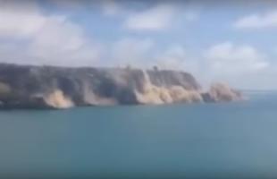 Nuova Zelanda. Terremoto 5.8: crolla la scogliera di Taylor's Mistake