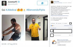 Higuain alla Juventus: a Napoli pizza a 0,99 euro per festeggiare il primo infortunio