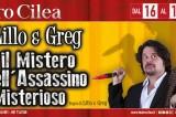 'Il mistero dell'assassino misterioso': risate in giallo al Cilea di Napoli con Lillo e Greg